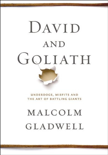 Tame Your Goliath, Book Review of Gladwell's David and Goliath