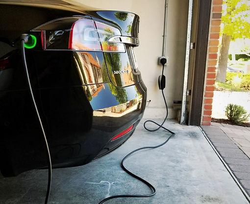 Faraday Electric Tesla Charging EV Electrician