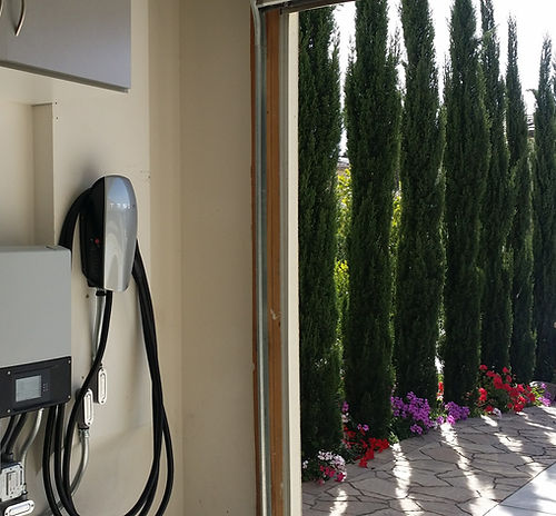 Tesla Wall Connector Faraday Electric Home Installation