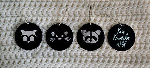 KWC Acrylic Ornaments