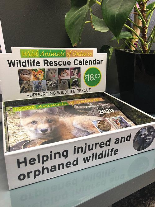 2020 Wildlife Rescue Calendar