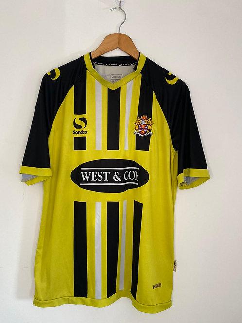 Dagenham & Redbridge 2014/16 Away Shirt L (Very Good)
