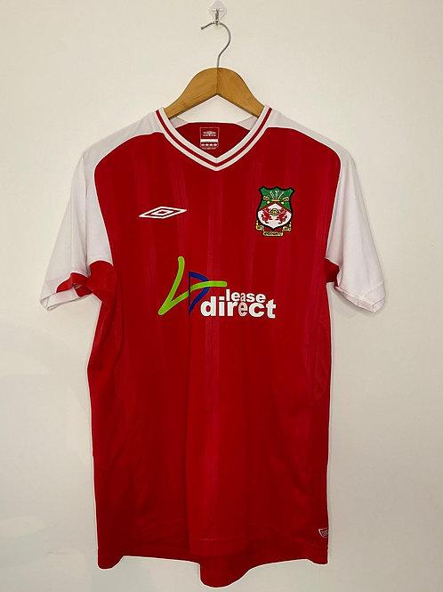 Wrexham AFC 2009/10 Home Shirt S (Excellent)