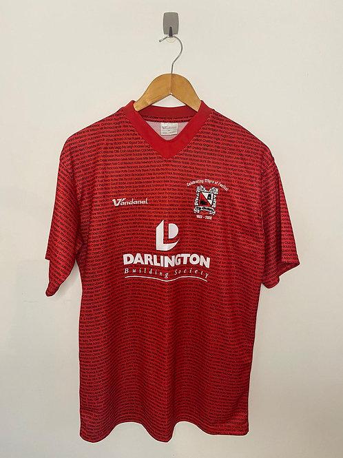 Darlington 2007/08 Away Shirt Medium (Excellent)