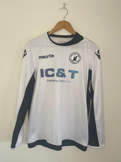 Eccles Town Player Worn Shirt L/S M #15 (Excellent)