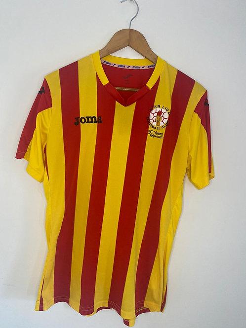 Afan Lido FC Home Shirt M #7 (Very Good)