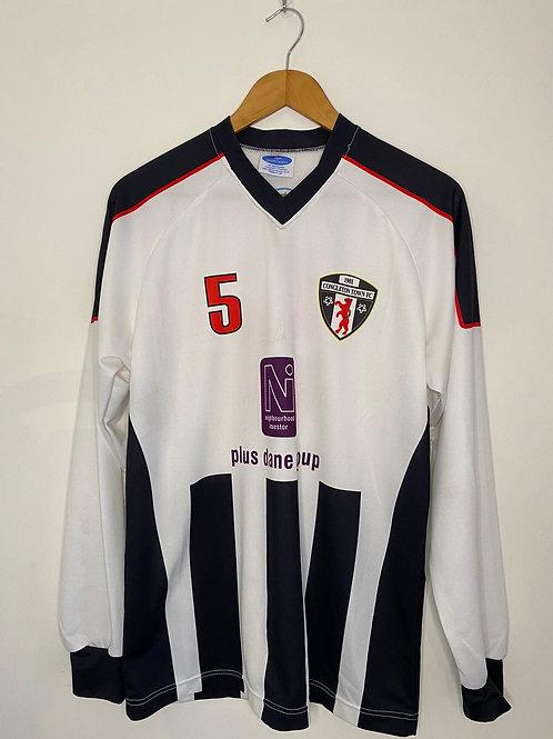 Congleton Town Player Worn Home Shirt S/M #5 (Very Good)