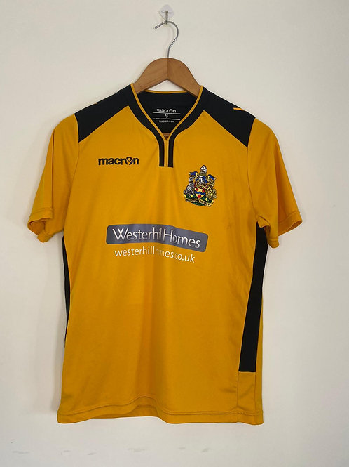 Maidstone United Youth Home Shirt S #17 (Excellent)
