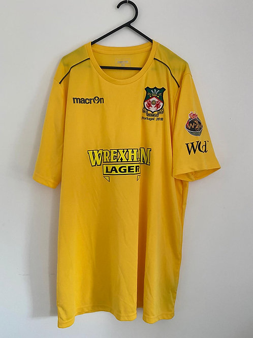 Wrexham AFC 2018 Pre Season Portugal Tour Shirt XXXL (BNWOT)