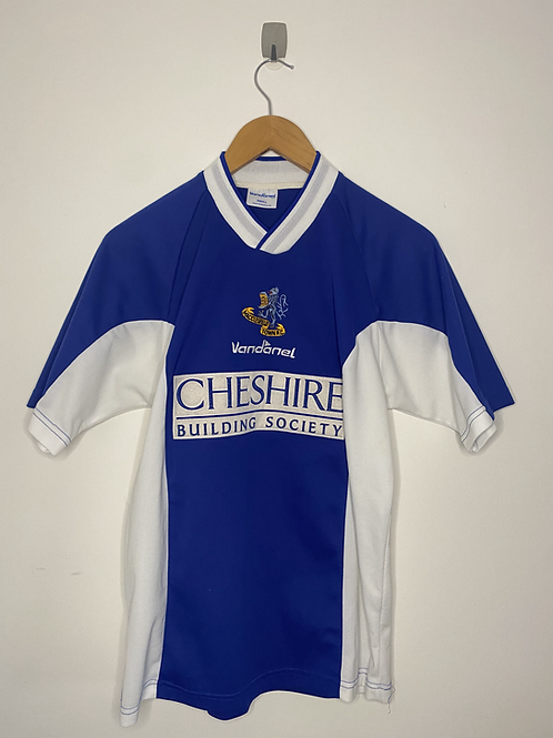 Macclesfield Town 2004/05 Home Shirt S (Excellent)