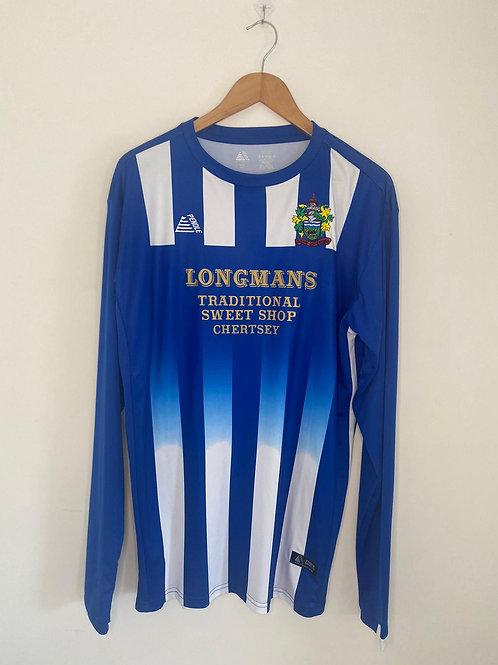 Chertsey Town 2018/19 Home Shirt L/S XL (Excellent)