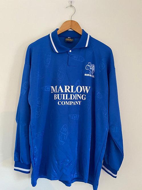 Marlow FC 90's Home Shirt L/S XL (Excellent)