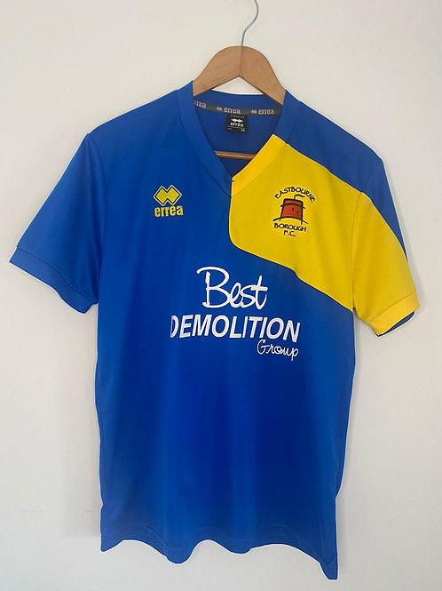 Eastbourne Borough Player Worn 2011/12 Away Shirt M #5 (Excellent)