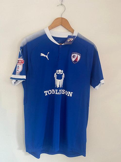 Chesterfield 2017/18 Home Shirt L #18 (BNWT)