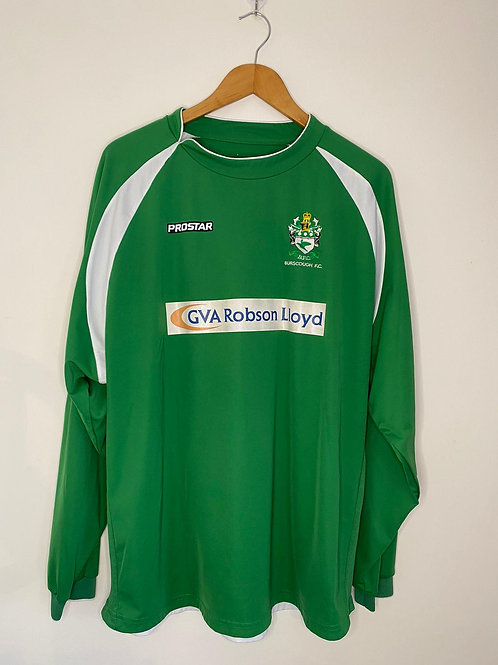 Burscough FC Match Worn Home Shirt L #9 (Very Good)