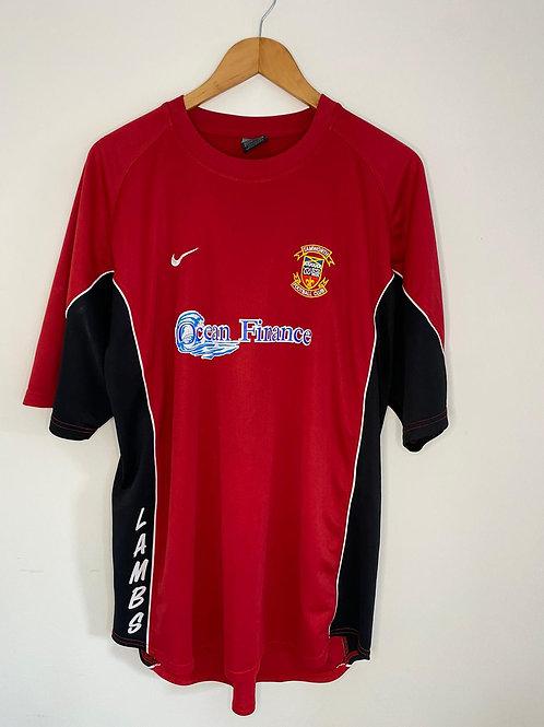 Tamworth 2004/06 Home Shirt XXL (Very Good)