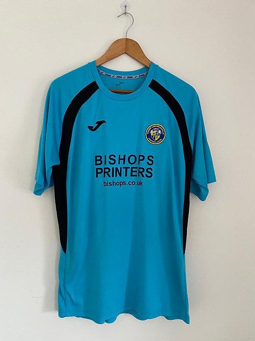Havant & Waterlooville Player Worn Away/Third Shirt XL #6 (Very Good)