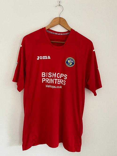 Havant & Waterlooville Player Worn Away/Third Shirt XL #5 (Very Good)