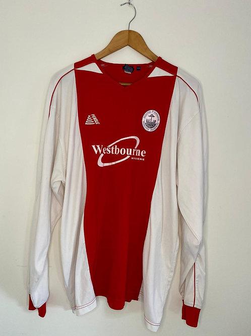 Hythe Town 2010/11 Player Worn Home Shirt #14 XL/XXL Very Good)