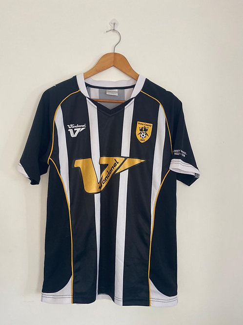 Notts County Jimmy Sirrel Special 2008/09 Home Shirt S (Excellent)
