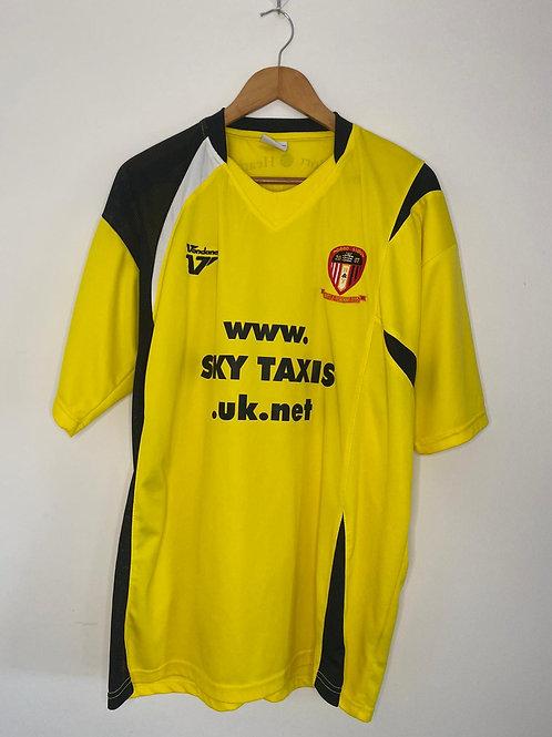 Hayes & Yeading United 2009/10 Third Shirt XXL Basham #36 (Excellent)