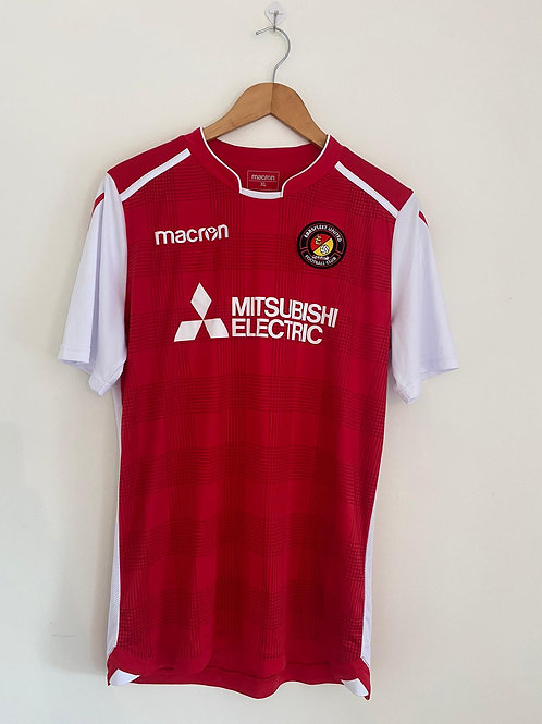 Ebbsfleet United 2017/18 Home Shirt XL (Excellent)