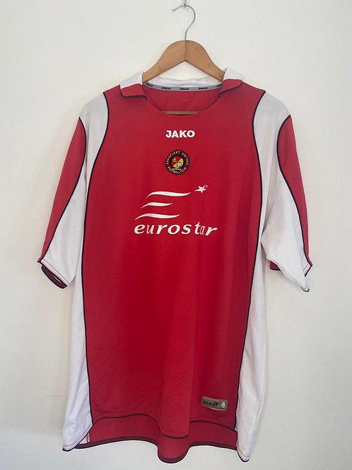 Ebbsfleet United 2007/08 Home Shirt XXL (Very Good)