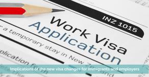 Novas mudanças nos esquemas de vistos de trabalho na Nova Zelândia