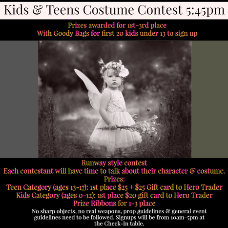 Kids & Teens Costume Contest