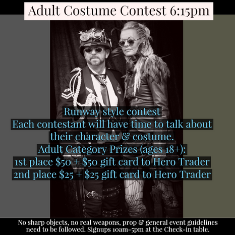Adult Custome Contest