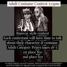 Adult Costume Contest