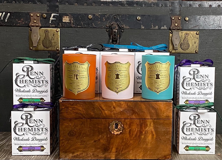 Penn Chemists Candles - Pharmacy collection