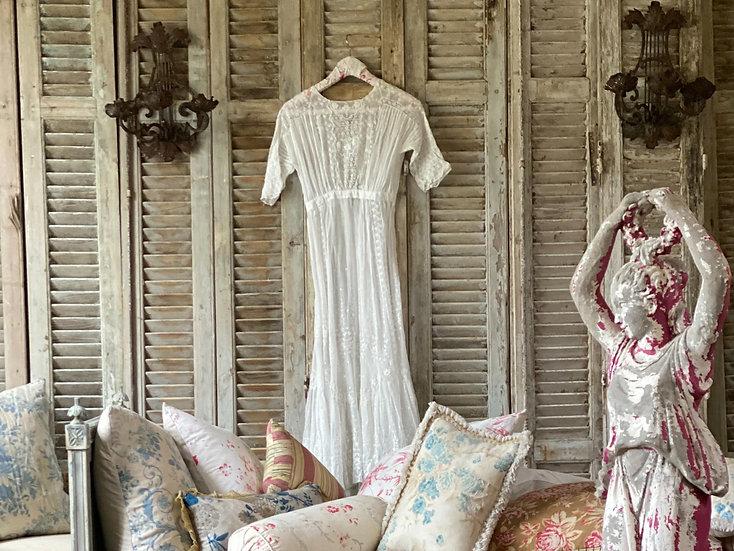 Antique Victorian lace dress