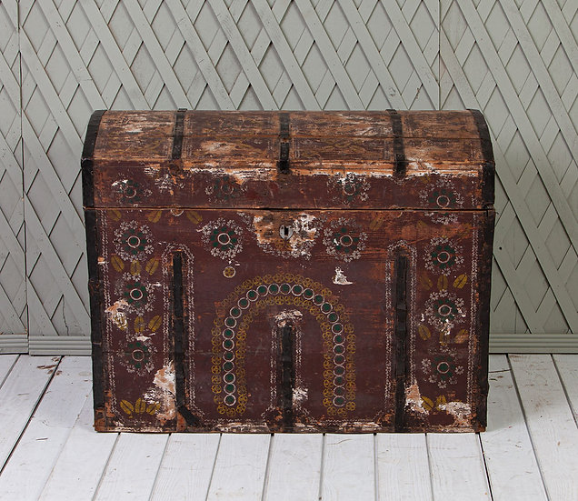 Antique Swedish Trunk