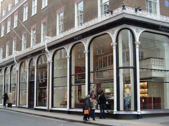 Asprey on Bond Street, London