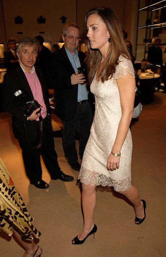 An example of infamous parties held at Asprey showing Royalty as guests