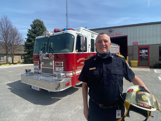 Kingsville fire service rebrands itself with new department crest