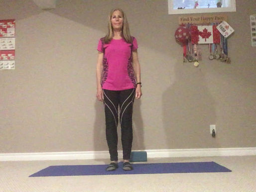 Staying Active with Marilyn:           Stretches for those tight quads
