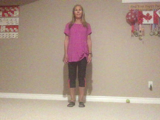 Full-body routine loosens muscles from head to toe