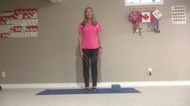 Staying Active with Marilyn:               Stretches for tight calves, shins