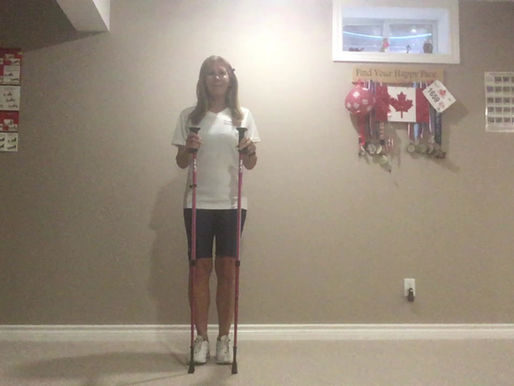 Want to make strides toward greater fitness? Try urban poling