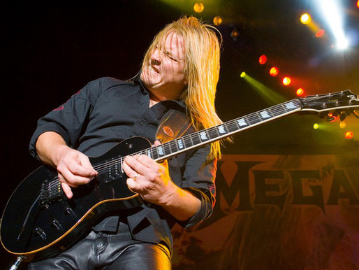 Long and winding musical road for former Megadeth guitarist