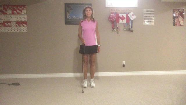 Golf stretches improve flexibility, range of motion