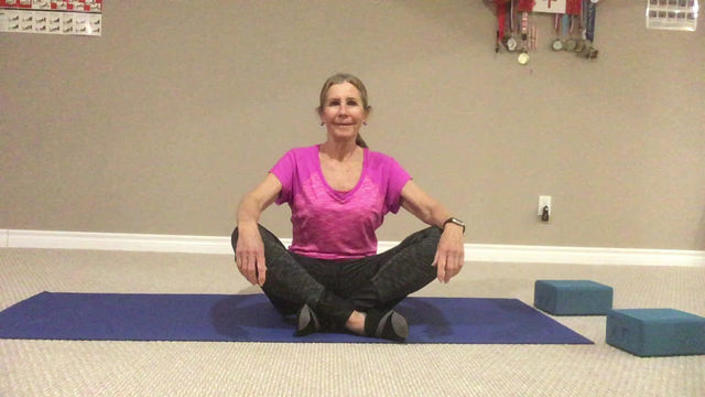 Staying Active with Marilyn: Yoga poses for an aching back