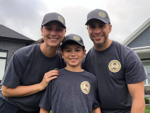 Super Ethan's Steps raises $8K to help young cancer patients