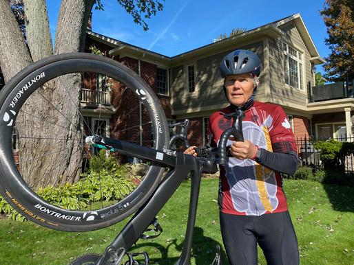 Kingsville cyclist measures success by the kilometre