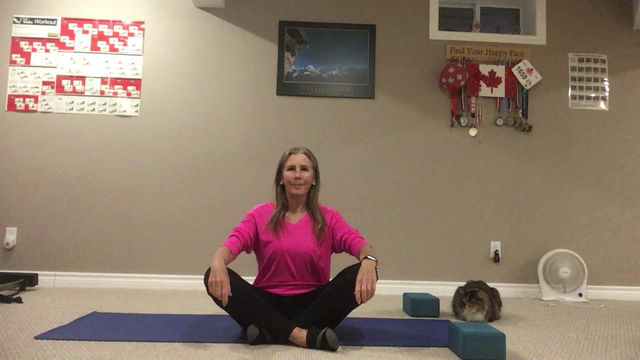 Staying Active with Marilyn:            5 yoga poses for tight hips