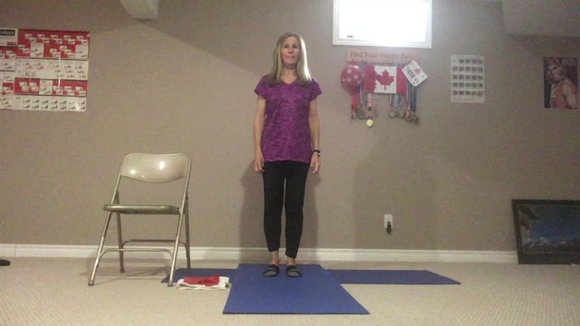 Staying Active with Marilyn:            Stretches for glutes, hamstrings