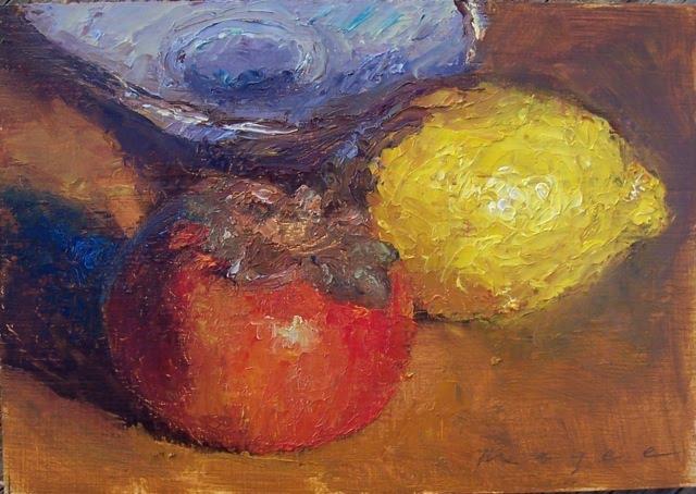 lemon & persimmon