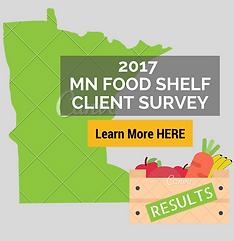 2017 MN Food Shelf Client Survey Results